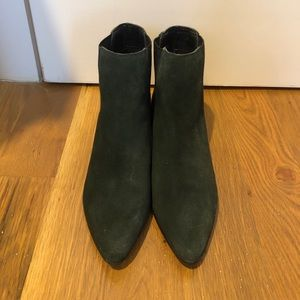 Urban Outfitters Forest Green Booties